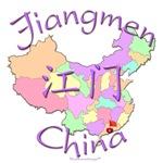 Jiangmen China Color Map