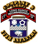 Army - CO D - 17th Infantry (LRRP)