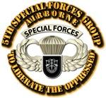 5th SFG Airborne Bdge w Flash