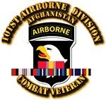 Army - 101st Airborne Div w Afghan Svc