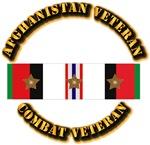 Afhganistan Veteran w 3 Campaign Star