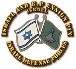 Israel and B.P Ensign Pin