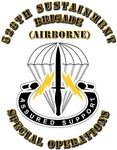 SOF -  528th Sustainment Bde SO Abn - DUI