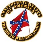 Flag - CSA - The South Will Rise Again