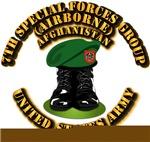 SOF - 7th SFGA - Boots - Beret - AF