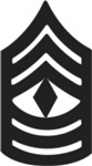 Army - Pin-On - 1SG