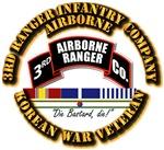 3rd Ranger Infantry Co w Korea Svc