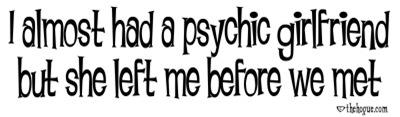 Psychic Girlfriend
