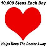 10,000 Steps Each Day