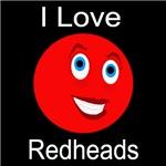 I Love Redheads Dark