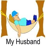 My Husband Light T Shirts