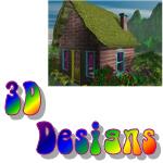 High Color 3D Art