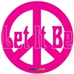 Let It Be Peace Sign