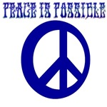 Peace Is Possible (Blue)