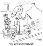 Extinction Cartoon 9325