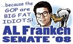 Al Franken Senate 2008 Gear
