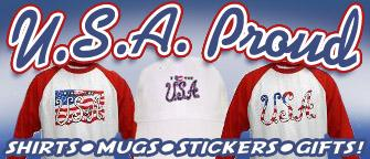 Proud USA t-shirts and more