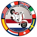 NETHERLAND VESPA SCOOTER FLAG T-SHIRTS & GIFT