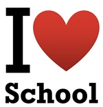 I <3 School