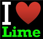 I Love Lime Dark