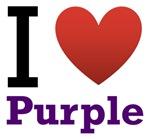 I Love Purple Light