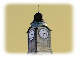 MC Nelson Hall Clock Tower