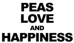 Peas, Love, and Happiness