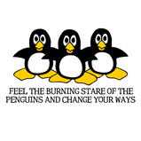 Burning Stare Penguins