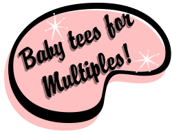 Toddler Tees for Multiples!