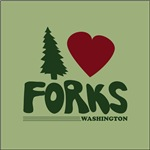 I Heart Forks, WA - Twilight