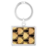 Art Deco Key Chains