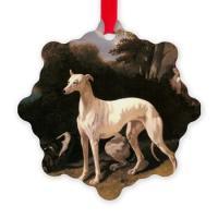 Greyhound Christmas Ornaments