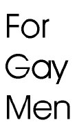 For Gay Men
