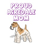 Proud Airedale Mom