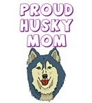 Proud Husky Mom