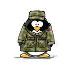 US Military Penguin