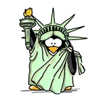 Statue of Liberty Penguin