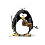 Violin Penguin