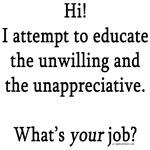 Teaching job description