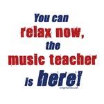 Relax, music teacher here