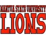 Mantua State University Lions Mascot