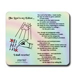 Mousepads with Poem & Logo