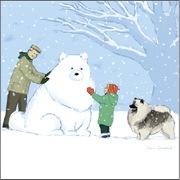 Keesie Snow Dog