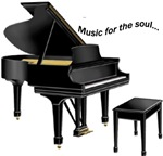 Music for the Soul (black piano)