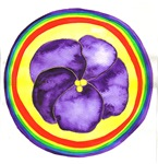 3rd Eye Chakra Flower Mandala