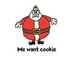 Santa - Me want cookie