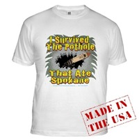 Pothole Monster II Men's Clothing
