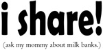 I Share! - Support Milk Banking