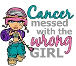 Combat Girl Thyroid Cancer
