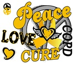 Peace Love Cure 2 COPD Shirts and Gifts